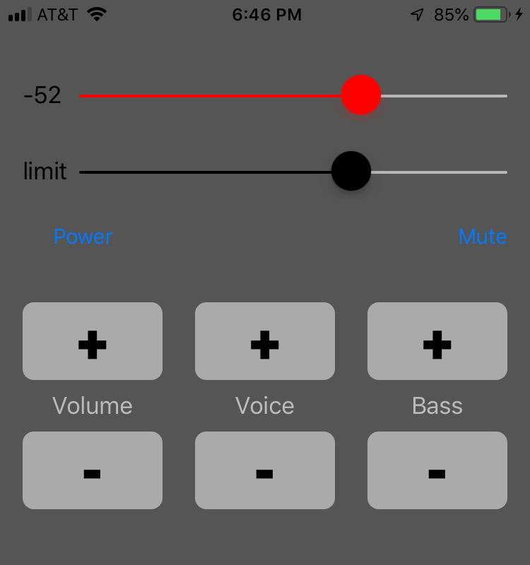 iOS remote control